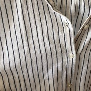 Lucky Brand Tops - Pinstripe Lucky blouse